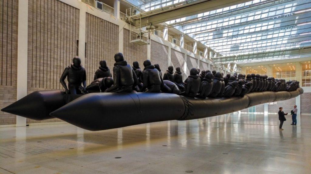 Ai Weiwei 70m Boat 'It's not a refugee crisis, its a humanitarian crisis'