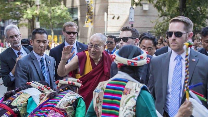 Dalai Lama Boston Visit