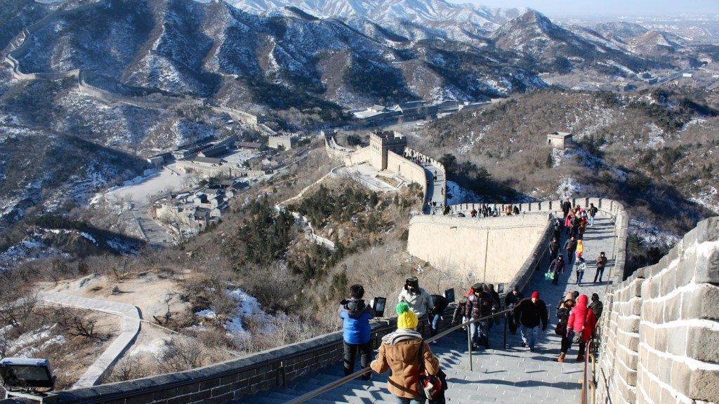 Great Wall of China - Warrick Wynne
