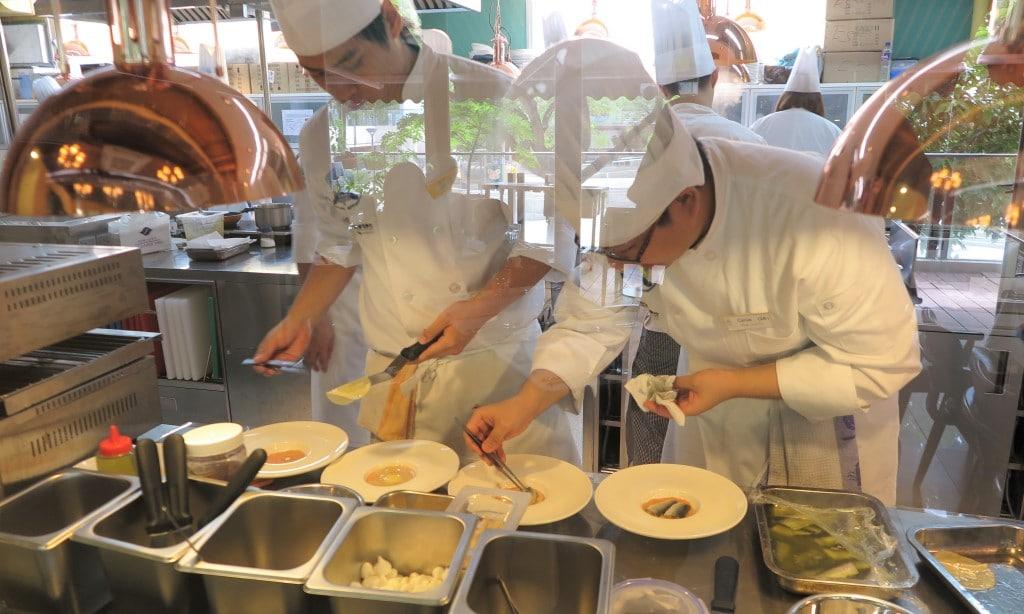 Hong Kong Culinary Academy Kitchen 2