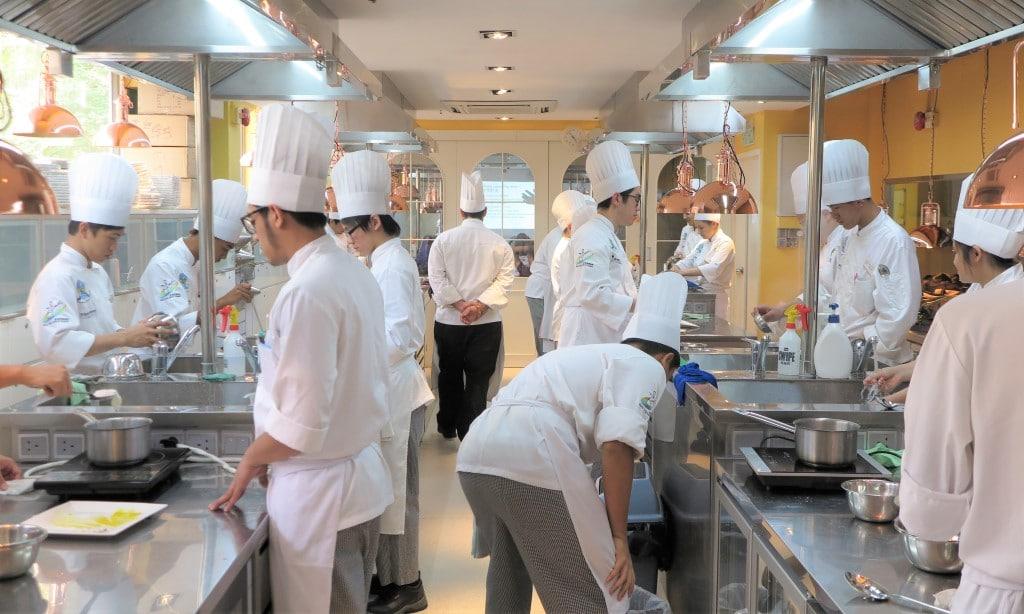 Hong Kong Culinary Academy Kitchen