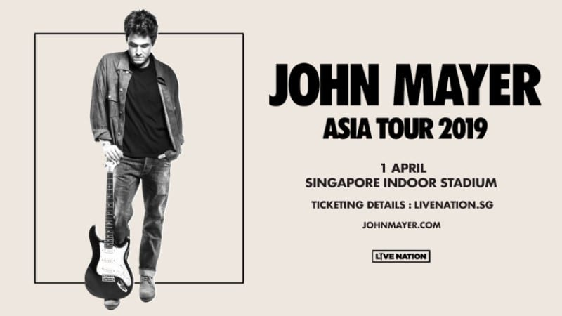 John Mayer Concert Poster