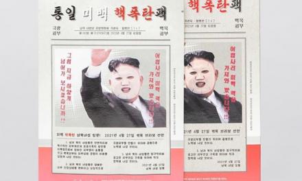 New Trend in South Korea: Kim Jong-un Facial Masks