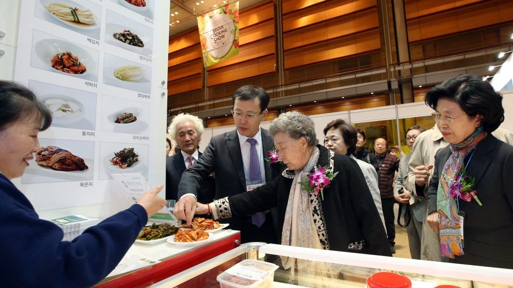 Kimchi Contest - Seoul