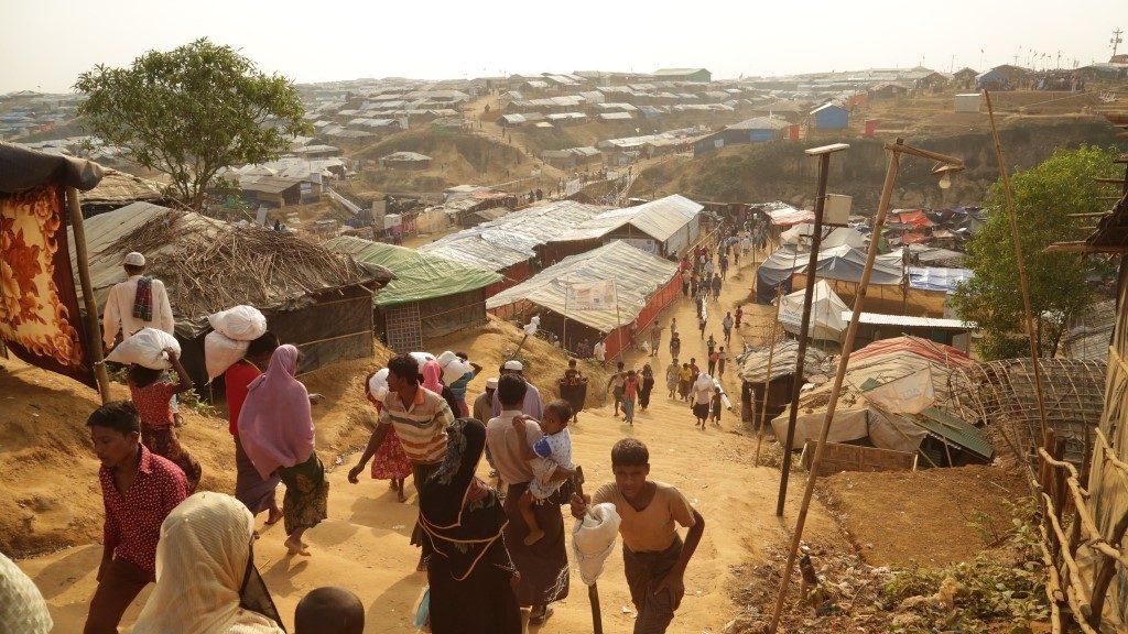 Kutupalong Refugee Camp - Bangladesh - DFID UK Department for International Development