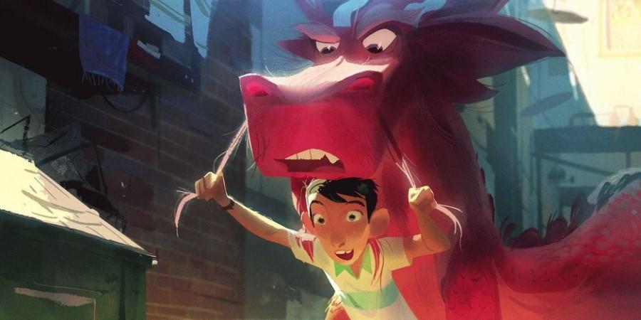 China - Wish Dragon Movie