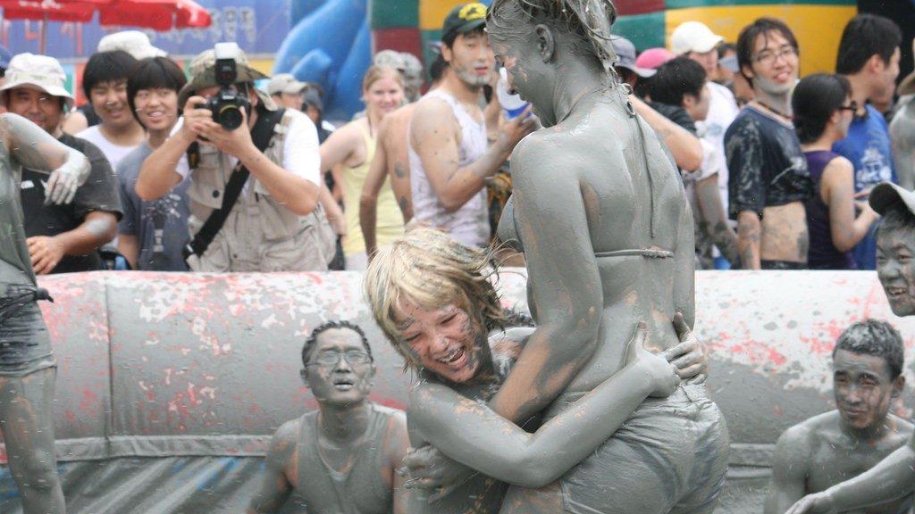 Mud Festival - Korea - Shawn Perez