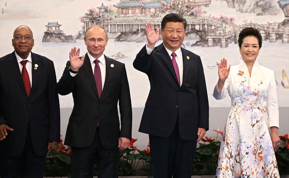 Peng Liyuan - BRICS Reception
