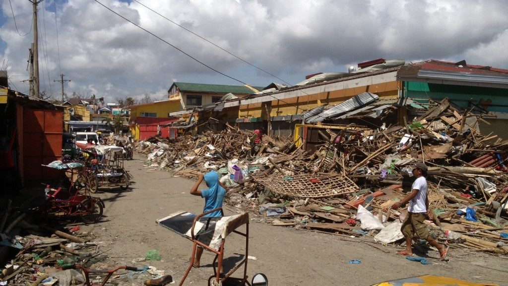 Philippines Communities on eastern shores of Panay devastated by Typhoon Haiyan
