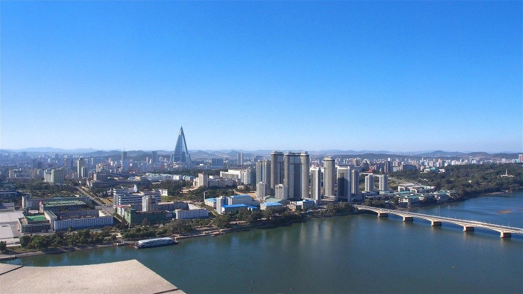Pyongyang - Taedong River from Juche Tower - Clay Gilliland