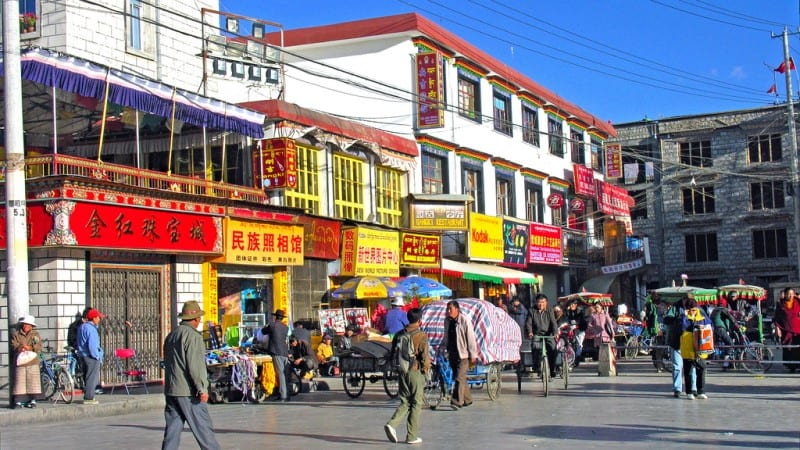 Road To Prayer Tibet