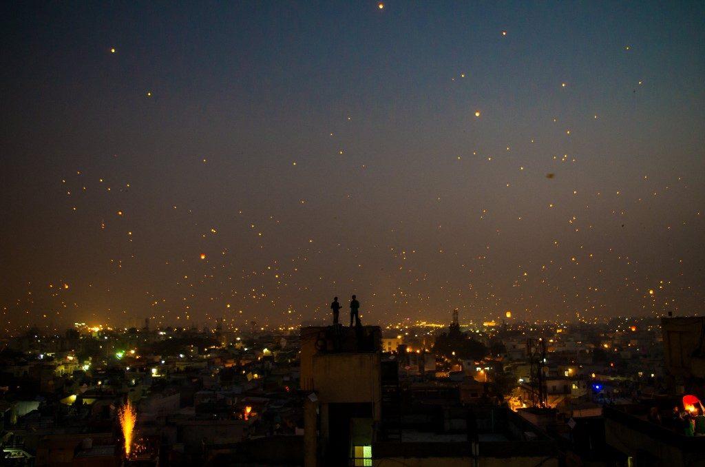 Sakranti at Night - Ahmedabad, India