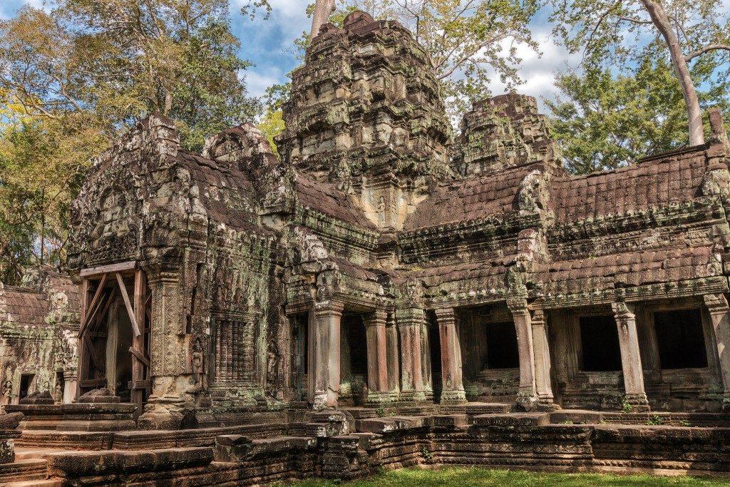 Temple - Angkor Thom - Cambodia - Jutta M. Jenning