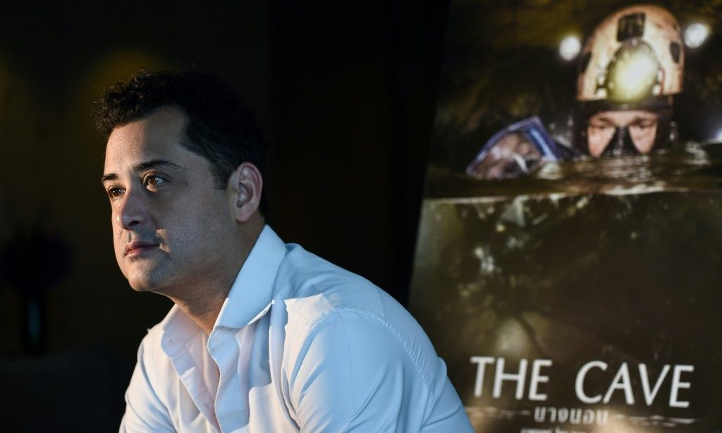 Thai Director 'The Cave' - © AFP