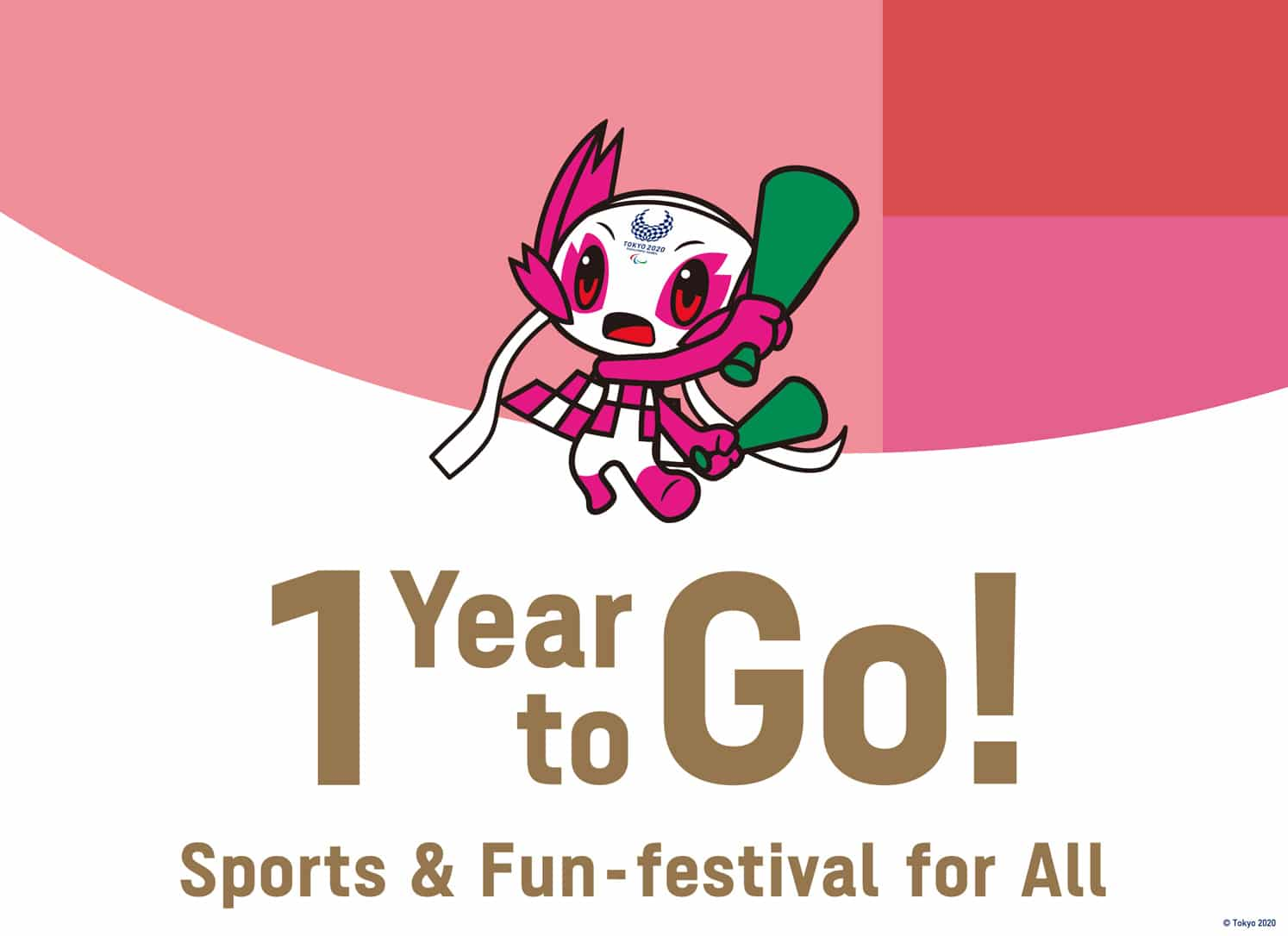 Tokyo 2020 1 Year to Go