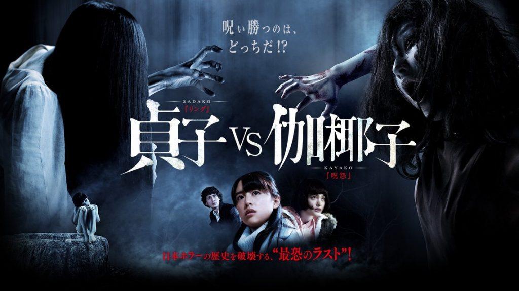 Sadako vs Kayako - Move Poster